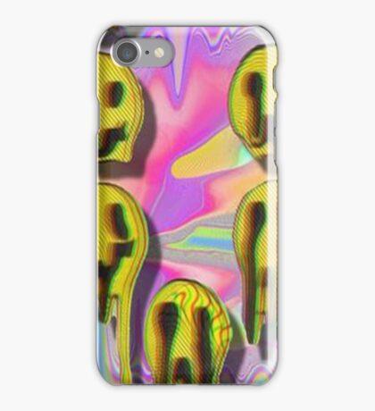 Acid Smileys iPhone Case/Skin