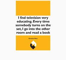 On Books - Groucho Marx Unisex T-Shirt