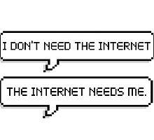 internet addict by xcelestite