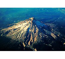 Flying above an Oregon Landscape Photographic Print