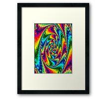 Acid trip Framed Print