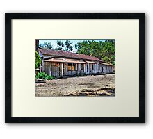 No Trespassing Framed Print