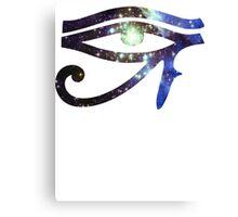 Kid Cudi Galaxy [Blue]   Eye of Ra [Eye of Horus] Canvas Print