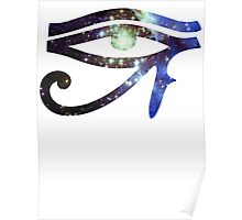 Kid Cudi Galaxy [Blue] | Eye of Ra [Eye of Horus] Poster