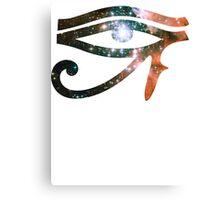 Kid Cudi Galaxy [Red] | Eye of Ra [Eye of Horus] Canvas Print