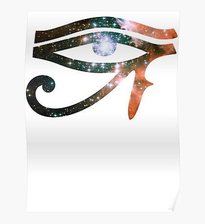 Kid Cudi Galaxy [Red]   Eye of Ra [Eye of Horus] Poster