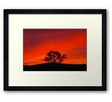 Stunning Skyscape Framed Print