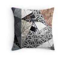 Textured Icon Throw Pillow