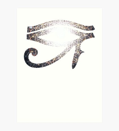 Sacred Cluster | Eye of Ra [Eye of Horus] Art Print