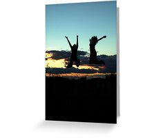 freedom improved. Greeting Card