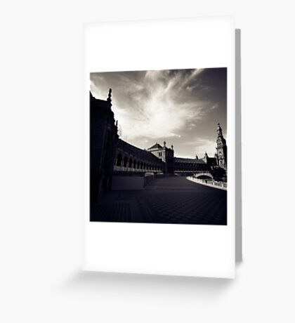 Seville in Fiction Greeting Card