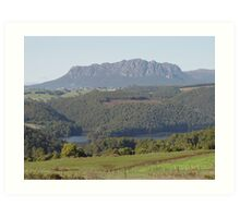 photoj Tasmania Mt Roland Art Print