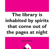 On Books - Isabel Allende by Colin Robson