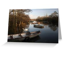 Ross castle lake Greeting Card