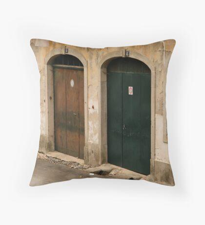 Sintra doors Throw Pillow