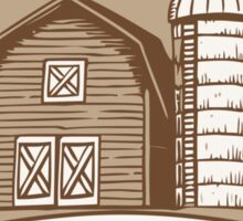Hershel's Farm Sticker
