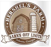 Hershel's Farm Poster