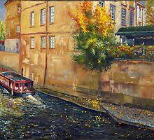Prague Venice Chertovka by Yuriy Shevchuk