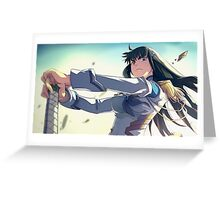 Kill la Kill ! Greeting Card