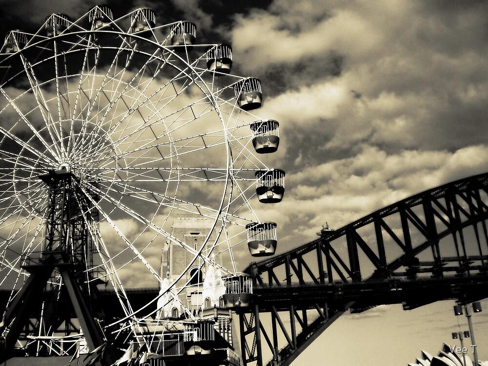 The Ferris Wheel by Vee T