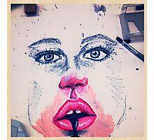 Makeup face Photographic Print
