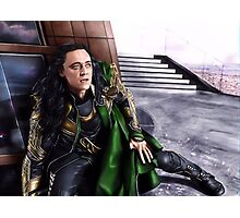 Loki - Burdened with Glorious Purpose XIX Photographic Print