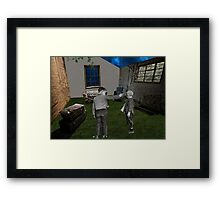 War Games  Framed Print