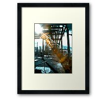 The Joils of Infrared Photography Framed Print