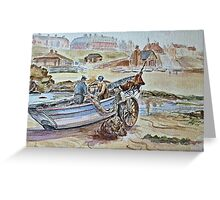 Cullercoats 1910s Greeting Card