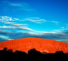 Ayers Rock by Massimo Merlini