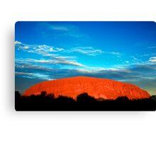Ayers Rock Canvas Print