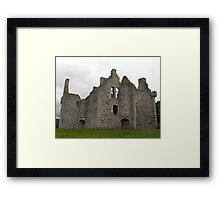 Glenbuchat castle Framed Print
