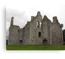 Glenbuchat castle Canvas Print