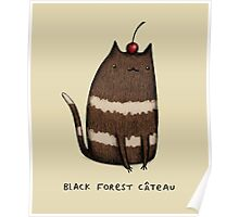 Black Forest Câteau Poster