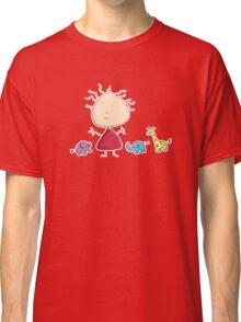 Tiny Tabi's Marvelous Zoo Classic T-Shirt