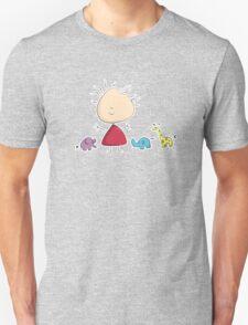 Tiny Tabi's Marvelous Zoo Unisex T-Shirt