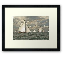 Sail on by Framed Print