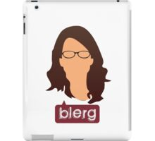 Liz Lemon - Blerg iPad Case/Skin