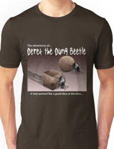 Derek the Dung Beetle 3 for dark T-shirts Unisex T-Shirt