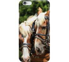 Taking a Rest Under the Trees iPhone Case/Skin