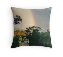 Avon Hills Rainbow Throw Pillow