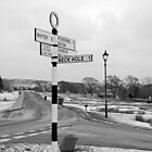 Pointing the Way, Goathland Signpost by Rod Johnson