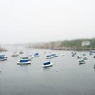 Reduced Rockport Harbor by Judi FitzPatrick