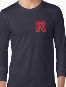 Red Letter R Long Sleeve T-Shirt
