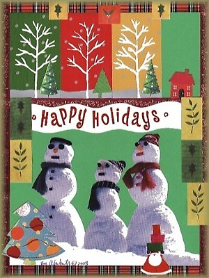 Happy Holidays from the Snow People3 by LadyRm