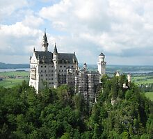 Schloss Neuschwanstein, Germany by blueclover