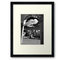 York Minster and Bootham bar from the Gallery Framed Print