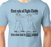First Rule of Fight Clubb Unisex T-Shirt