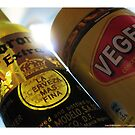 Dietary Staples - Beer and Vegemite by dale rogers