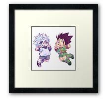 kirugon  Framed Print